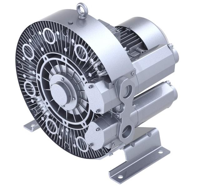 单叶轮4GH210-0.55kw高压风机